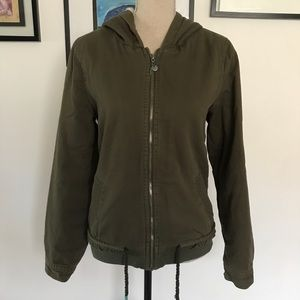 Roxy jacket with hoodie